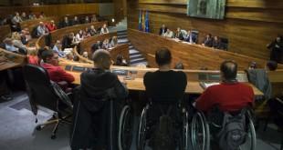 El Cermi asturias en la Junta General del Principado de Asturias