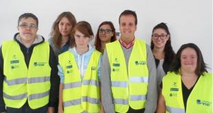 Jóvenes con Síndrome de Down, Cooperantes Viales en Madrid