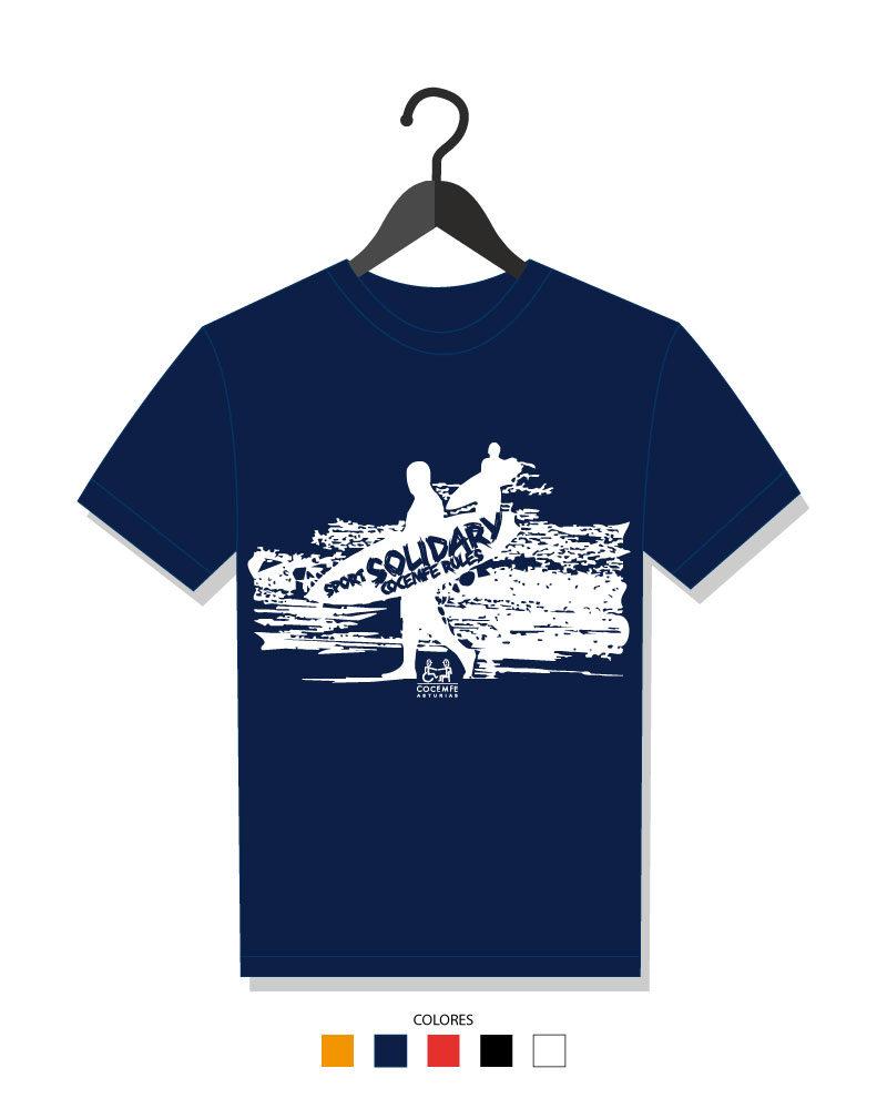 Camiseta COCEMFE Asturias