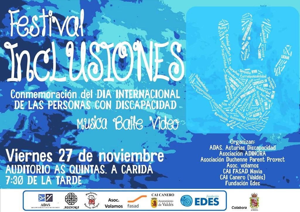 Festival Inclusiones, organizado por la Fundación EDES
