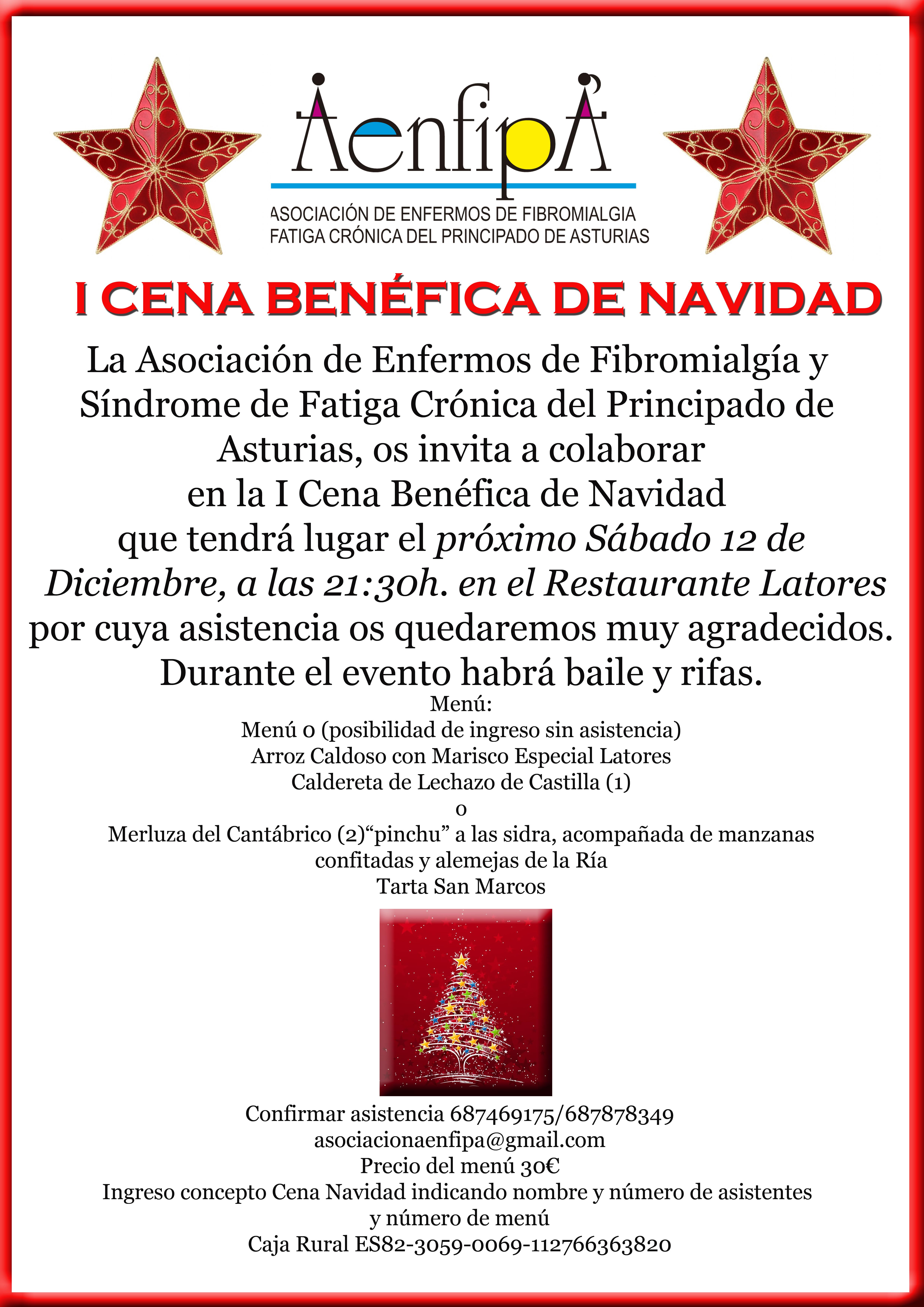 I cena de navidad de aenfipa discapzine promoci n del - Cenas para navidad 2015 ...