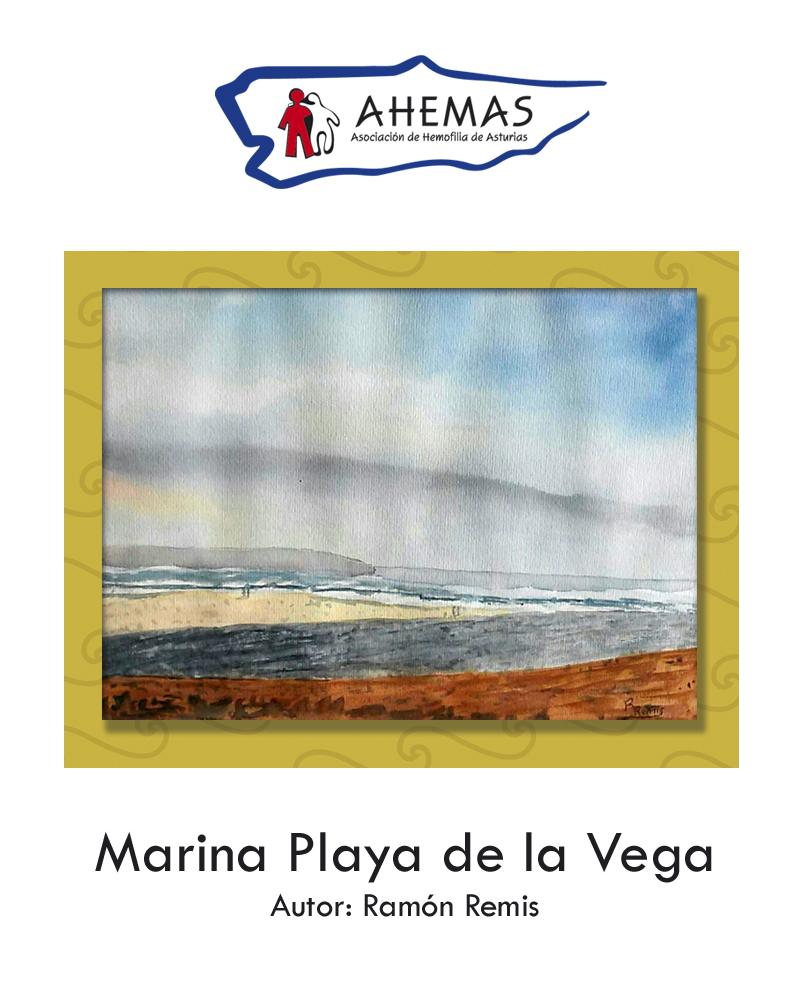 Cuadro Marina Playa de la Vega