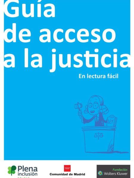 Portada Guía de Acceso a la Justicia