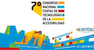 cartel 7 congreso nacional centac tecnologias accesibilidad