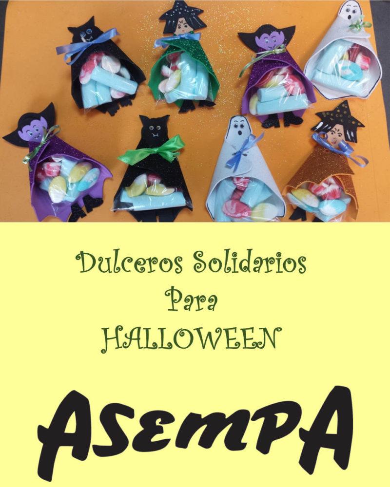 dulceros solidarios para halloween de asempa 2