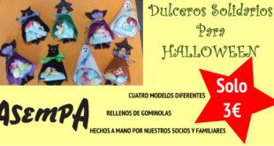 dulceros solidarios para halloween de asempa