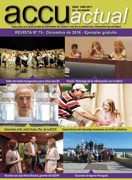 Portada Revista ACCU Actual 75