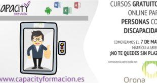 convocatoria mayo capacity formación gracias orona