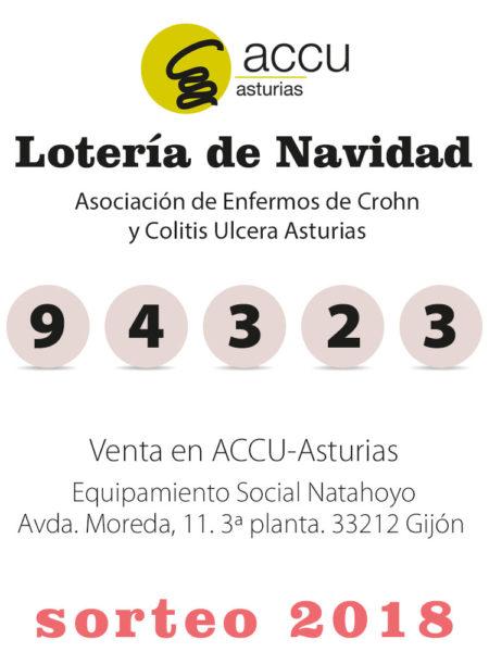 Lotería ACCU Asturias Nº 94323