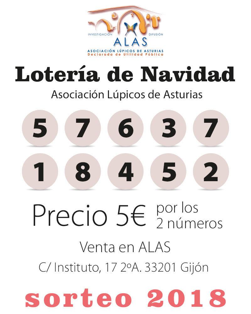 Lotería Lupicos Asturias