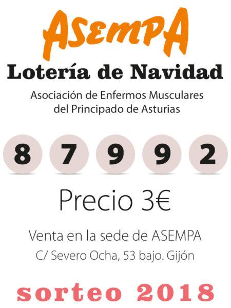 Loteria de Navidad de ASEMPA