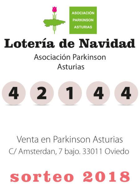 Lotería de navidad Parkisnon Asturias