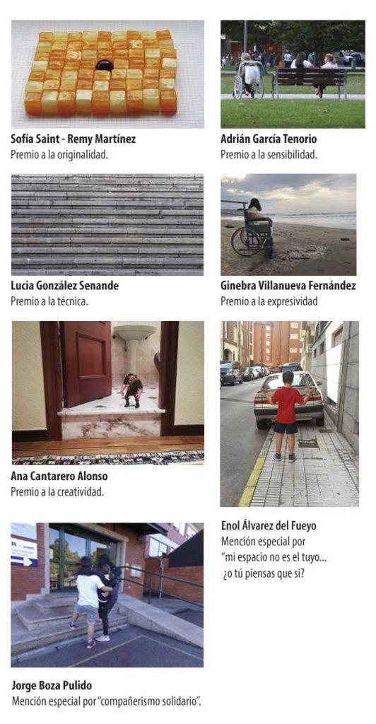 Fotos ganadoras concurso Enfoca la Discapacidad 2018