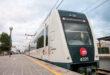 Un tren en la estación