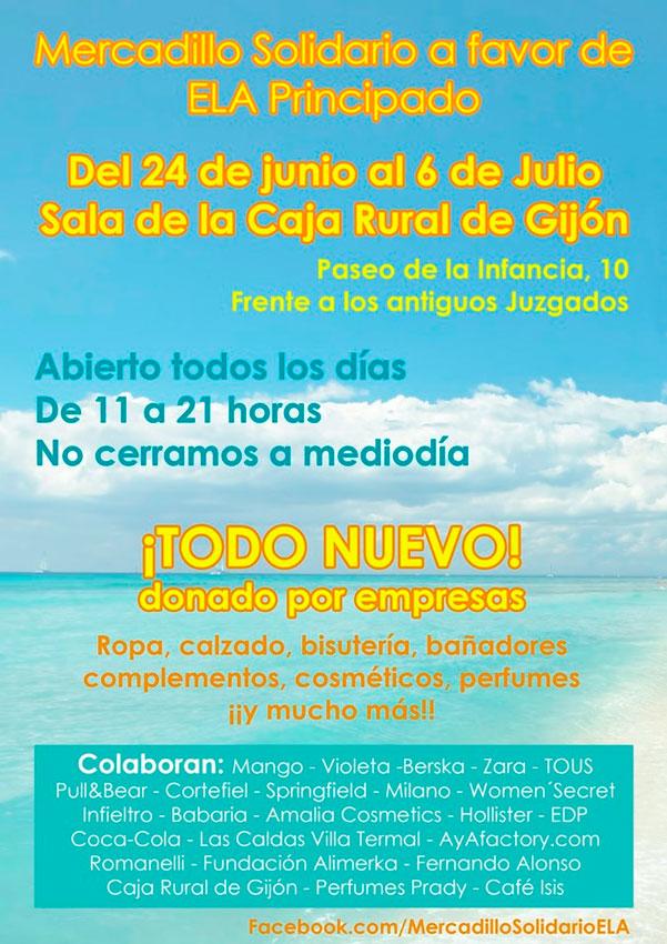 Mercadillo Solidario Principado Solidario Mercadillo Ela xodBeC