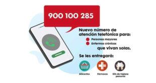 telefono atención 900 100 285