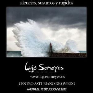 Cartel exposición Sonidos del Agua