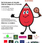 Cartel 4º torneo de pádel hemofilia Asturias