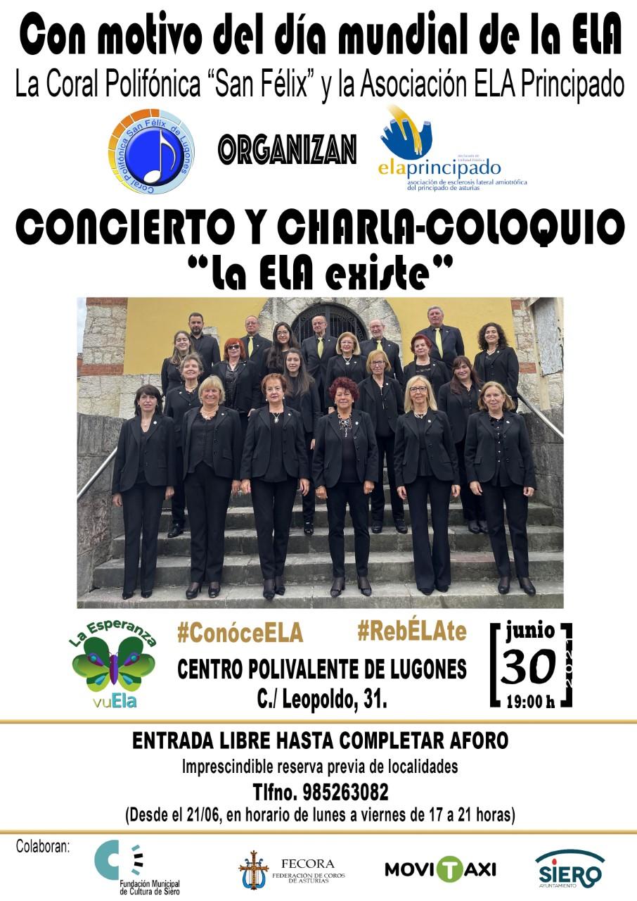 Imagen con los integrantes del coro Polifónica San Félix