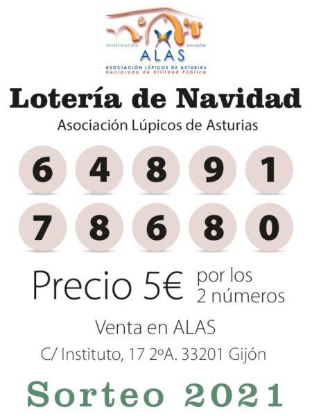 Número de la loteria de Navidad de Lupus Asturias, 64.891 y 78.680